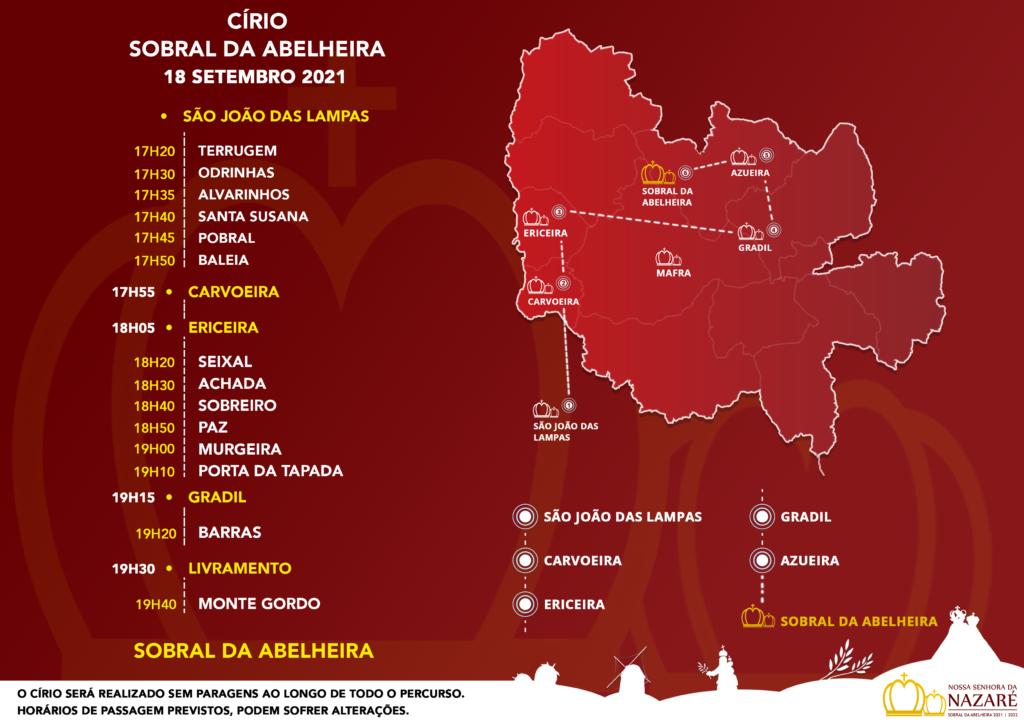 Círio - Sobral da Abelheira 2021